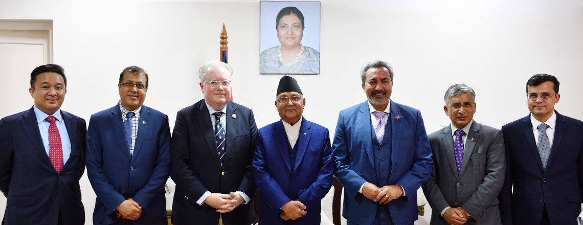 U.S. congressional delegation visits Nepal