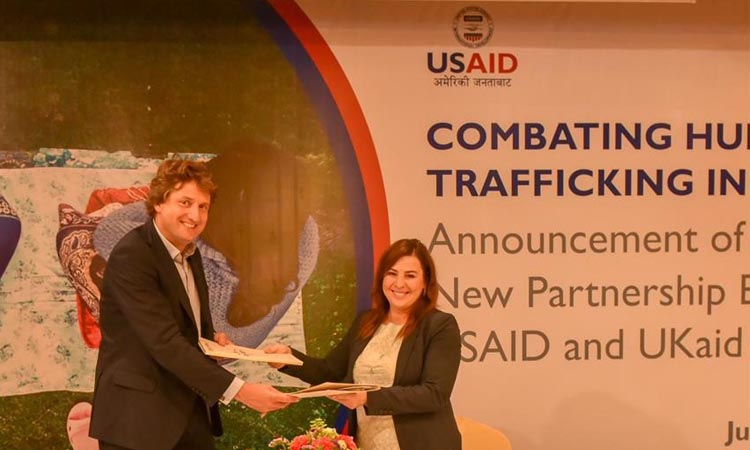 US and UK Partner to Combat Human Trafficking