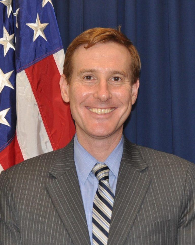 Photo of Chargé d'Affaires Michael Newbill