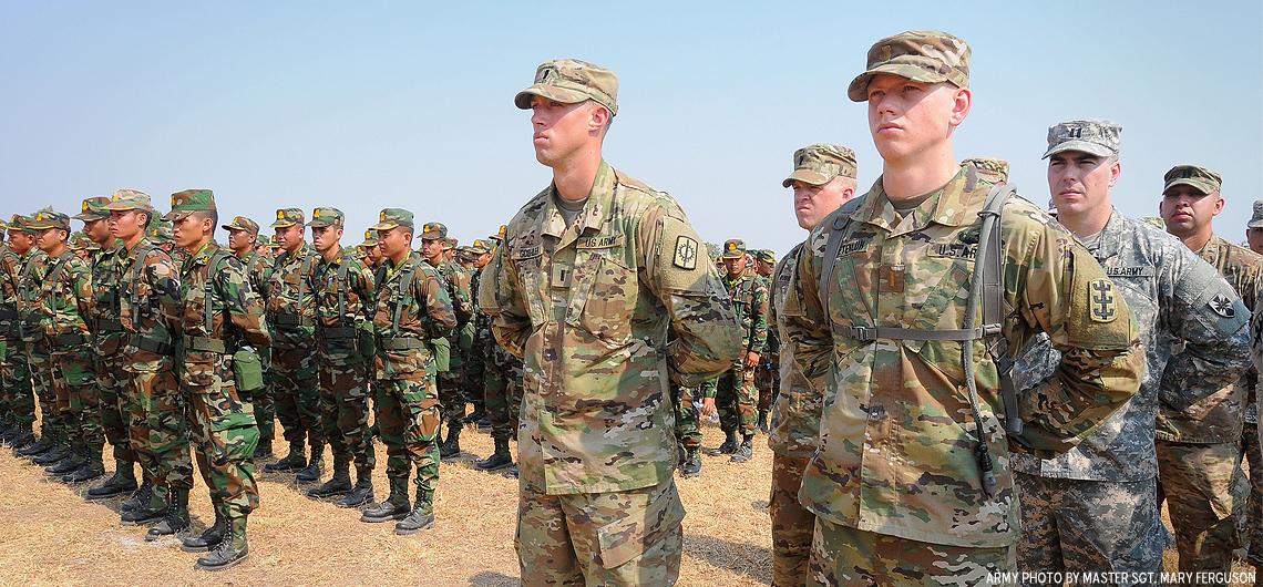 U S , Cambodian Forces Partner for Angkor Sentinel 2016