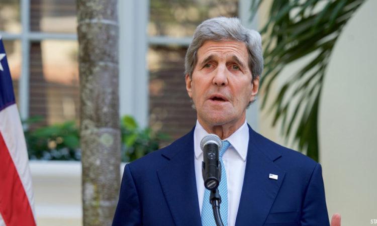 លោក John Kerry រដ្ឋមន្រ្តីក្រសួងការបរទេសសហរដ្ឋអាមេរិក