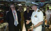 Ambassador Culvahouse tours USS Texas (SSN 775)