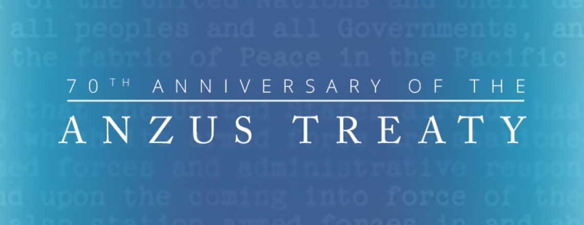 ANZUS 70th Anniversary
