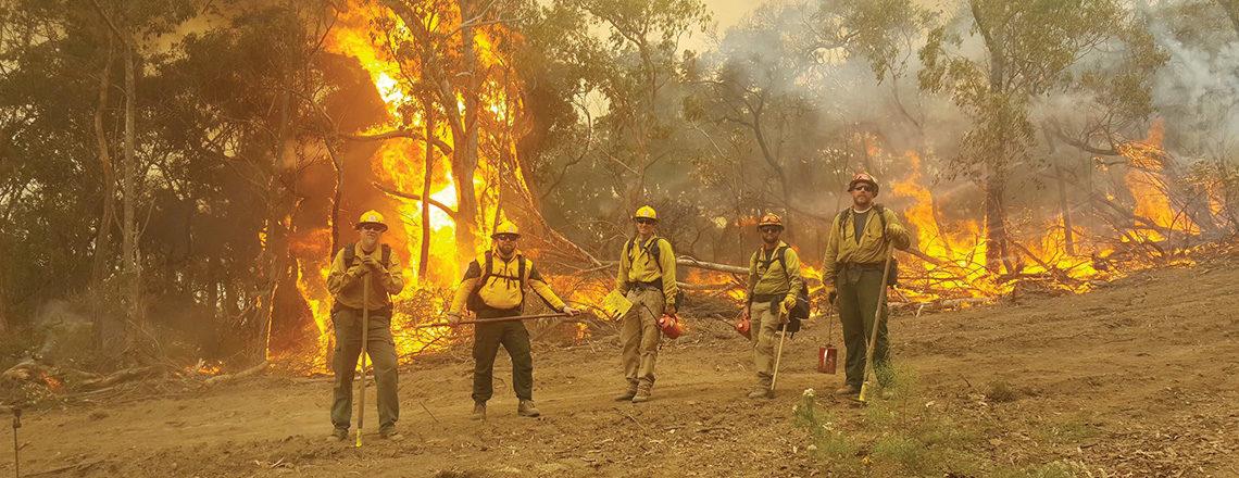 U.S.-Australian Firefighting Cooperation