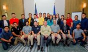 U.S. Embassy Deputy Chief of Mission John Law meets with Philippine government officials participating in wildlife crime scene investigation training.