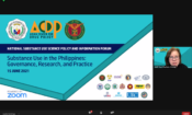 06 16 2021 PR – U.S. Embassy Supports First National Substance Use Science Policy and Information Forum in the Philippines