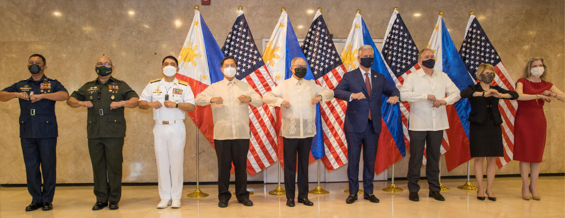 U.S. National Security Advisor Robert O'Brien Visits the Philippines