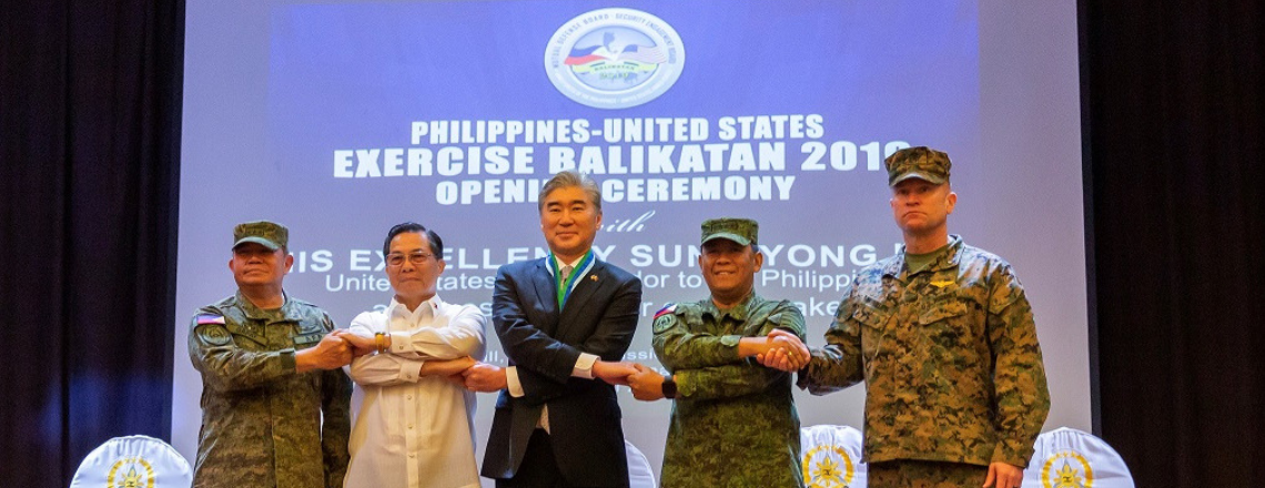 U.S. and Philippine Forces Come Together for the Opening Ceremony of Balikatan 2019