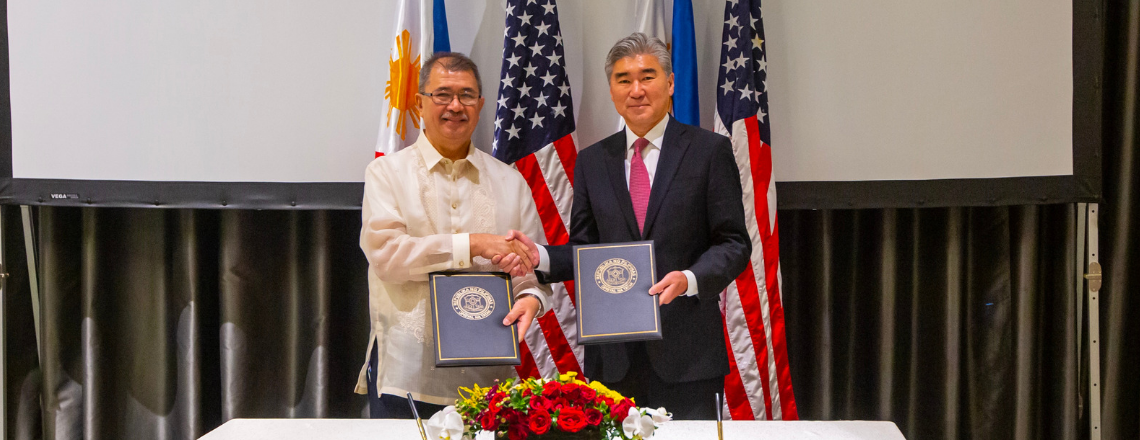United States, Philippines Sign Ten-Year Agreement on Science and Technology Cooperation