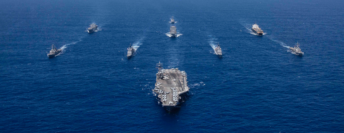 U.S. Aircraft Carrier Arrives in the Philippines