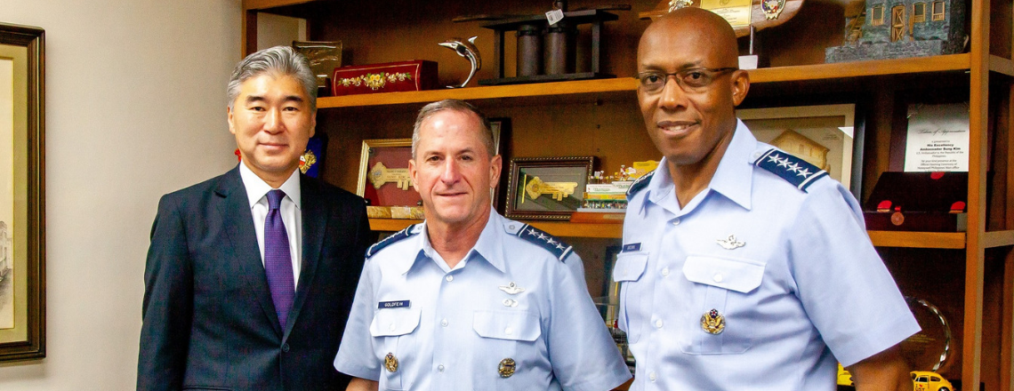 Chief of Staff of the U.S. Air Force and Commander, Pacific Air Forces, Visit Manila