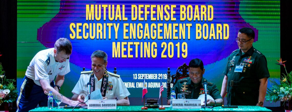 U.S. and PH Reaffirm Alliance at Mutual Defense Board and Security Engagement Board