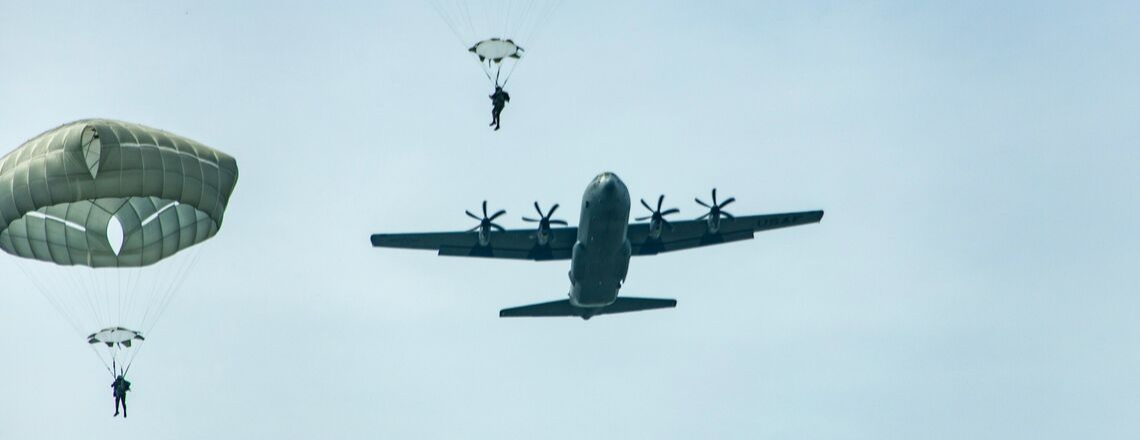 U.S. and Philippine Armed Forces Conduct Combined Airborne Operation
