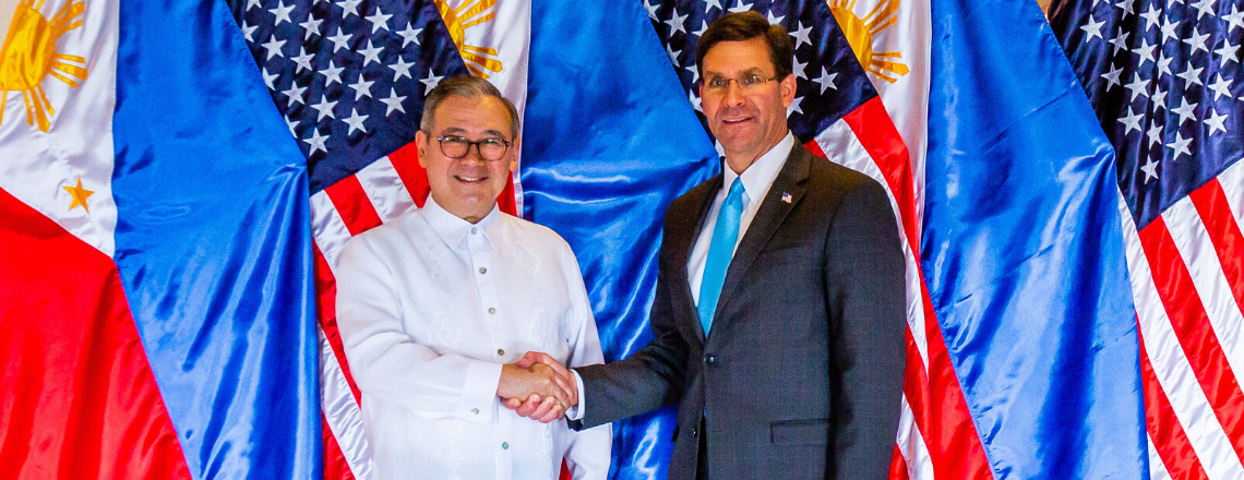 U.S. Secretary of Defense Visits the Philippines to Reaffirm Strong Bilateral Ties
