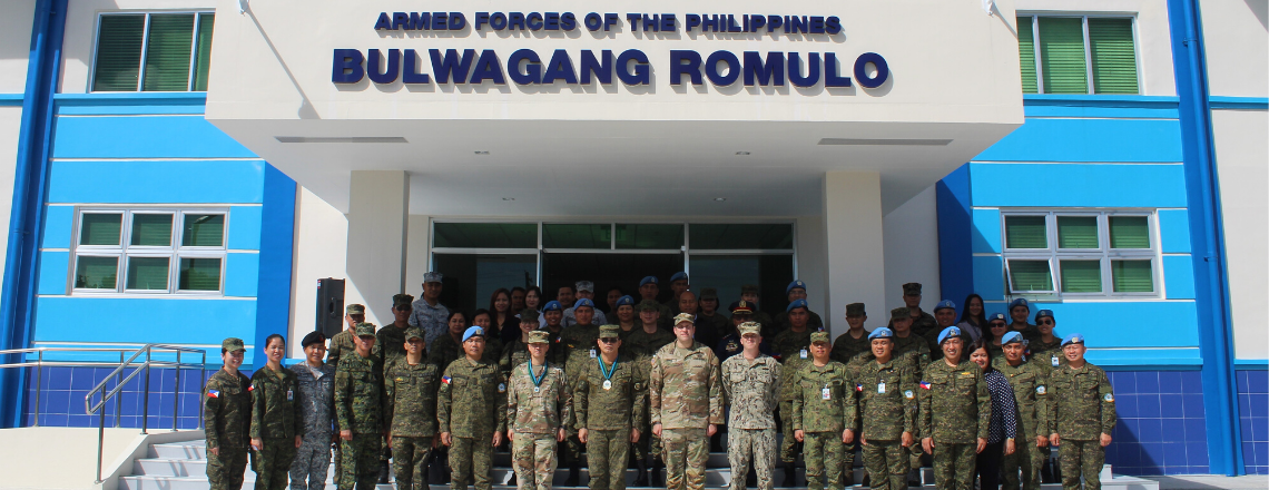 U.S. and Philippine Armed Forces Inaugurate U.S.-Funded Peacekeeping Facility