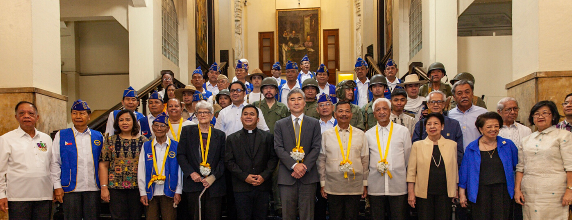 Ambassador Kim Joins DND, UST Officials in Ceremony Honoring WWII Internees