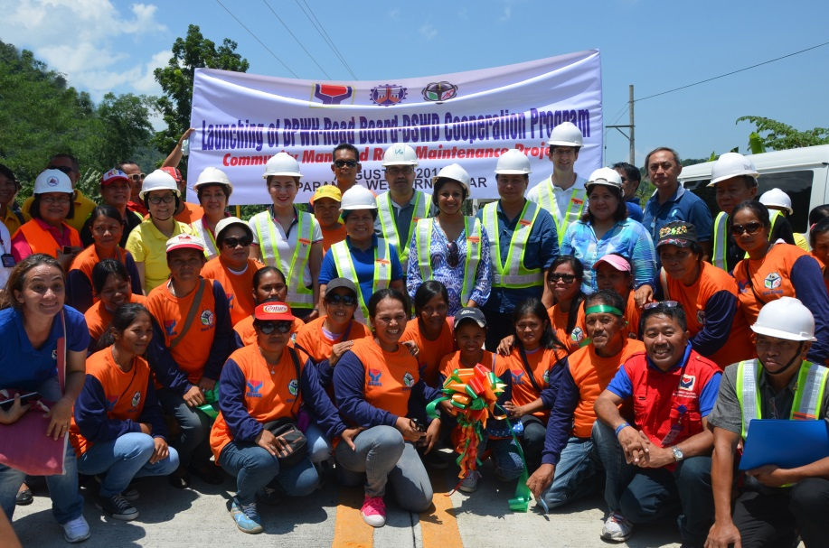 """US and Philippine Government Officials Celebrate Completion of """"Millennium Road to Progress"""""""