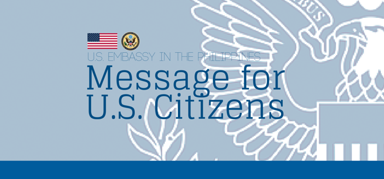Message for US Citizens Feature Image