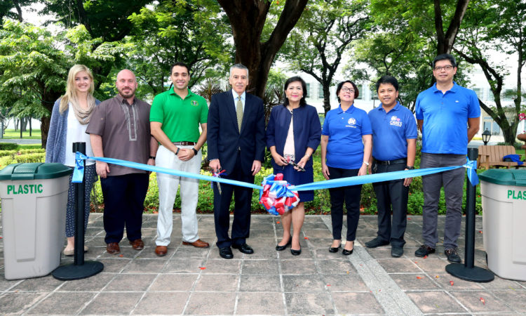 U.S. Embassy, SM Cares Team Up to Launch Recycling Program