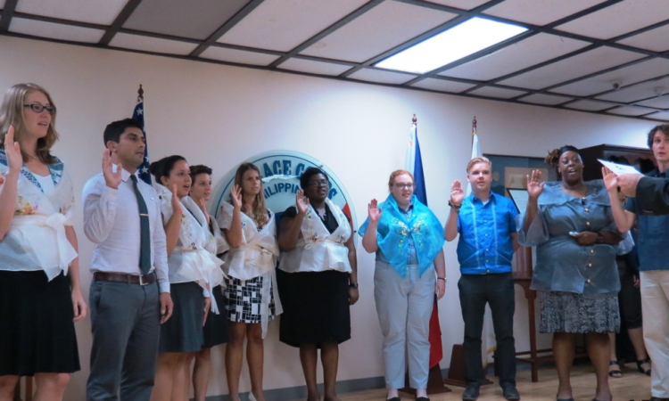 New U.S. Peace Corps Volunteers Arrive in the Philippines, Ready to Help Communities.