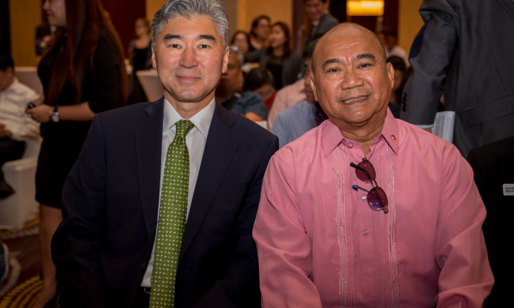 U.S. Ambassador Kim and Philippine Department of Health Undersecretary Valle were guests of honor and speakers at the first U.S.-Philippines Patient Day, organized by the U.S. Embassy, held on April 5, 2017 in Makati City.