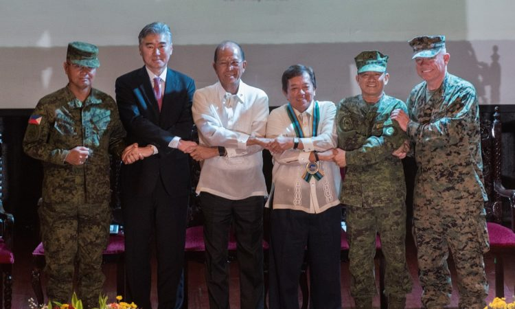 U.S. and Philippines Shoulder-to-Shoulder during Balikatan 33 Opening