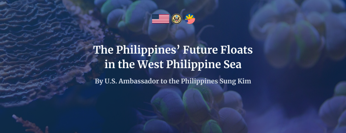 The Philippines' Future Floats in the West Philippine Sea