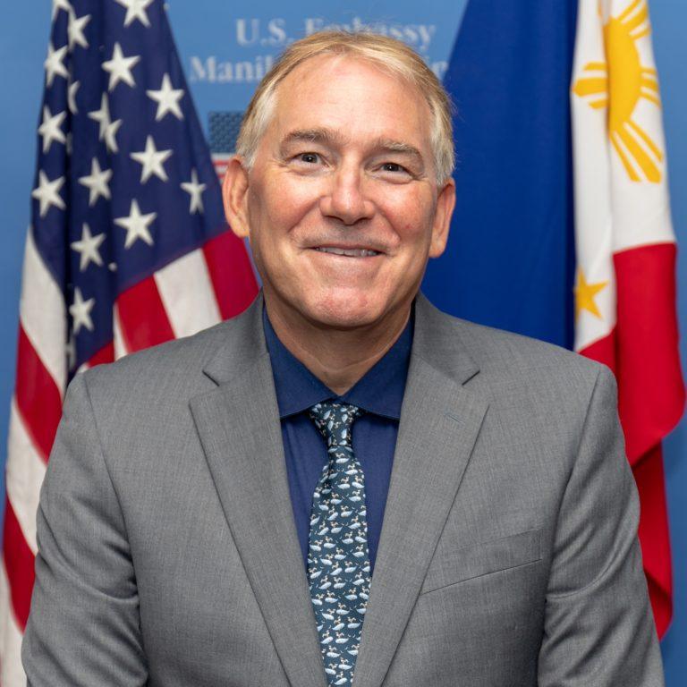 Photo of Chargé d'Affaires John C. Law