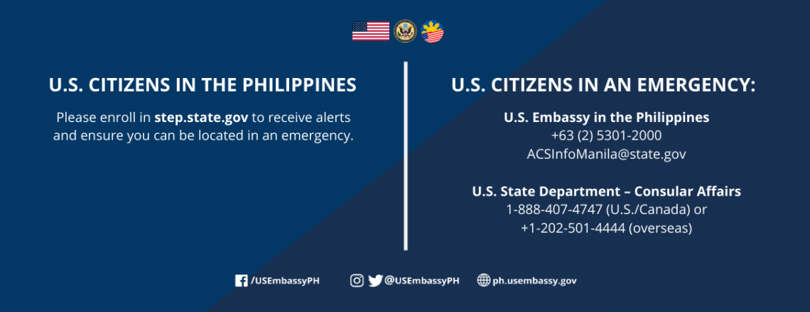 Contact Information for U.S. Citizens in the Philippines
