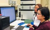MMSU faculty member Jessica Asuncion works closely with Dr. Concepcion Remoroza, a Filipina research chemist at NIST.