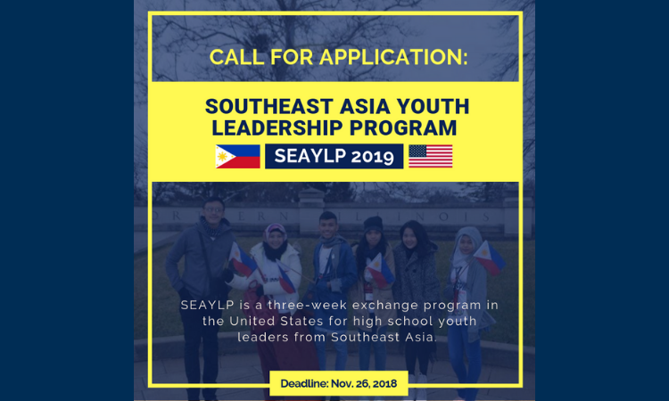 South East Asian Youth Leaders Program (SEAYLP)   U S