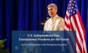 US Ambassador Sung Kim OpEd July 4 Feature Image