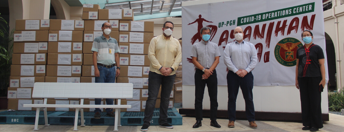 United States Donates Php14.8 Million in PPE to PGH and Other Medical Facilities