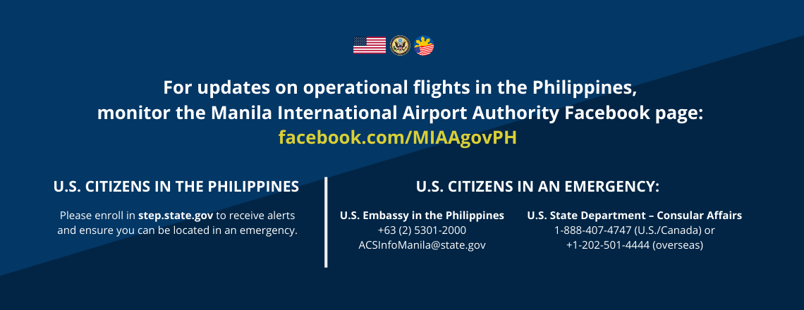 Philippine Flight Updates