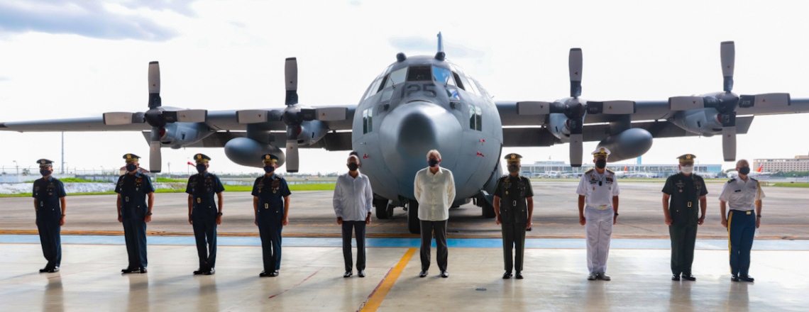 U.S. Military Turns Over C-130 Hercules Aircraft to Philippine Air Force