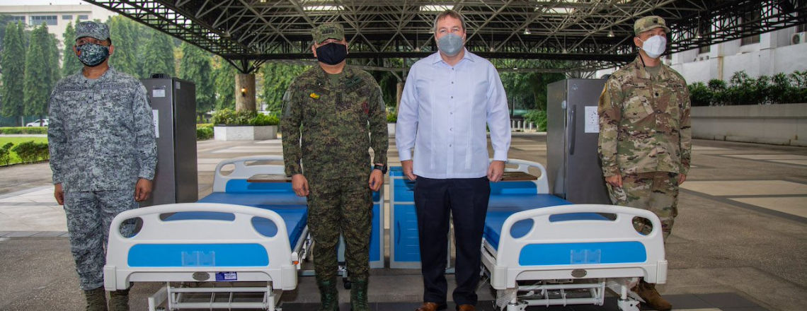 U.S. Military Donates COVID-19 Vaccine Cold Storage Units to the AFP