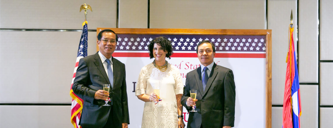 U.S. Celebrates Independence Day With Lao Leaders