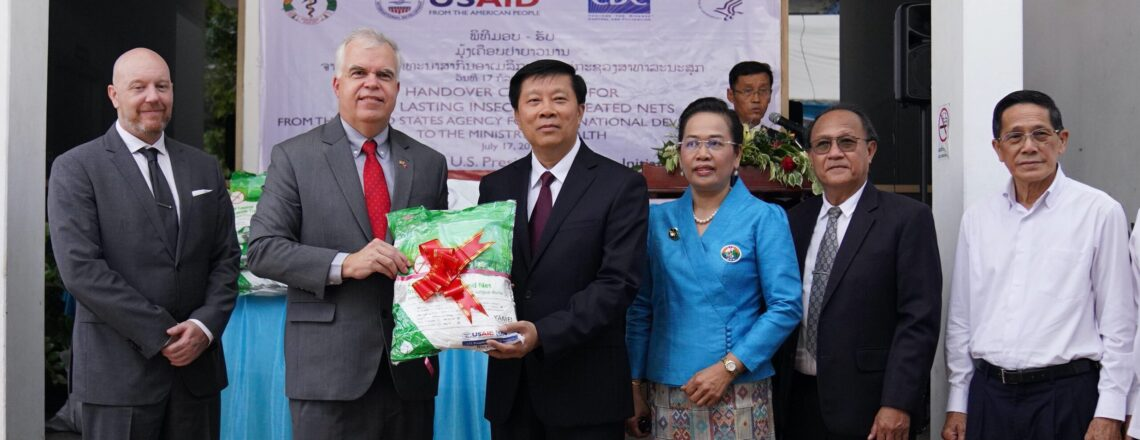 U.S. Provides 88,000 Additional Mosquito Nets to Prevent Malaria in Laos