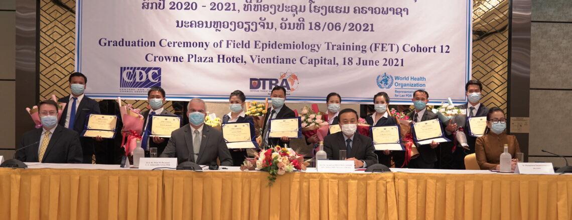 U.S. Embassy congratulates Field Epidemiologist Training graduates