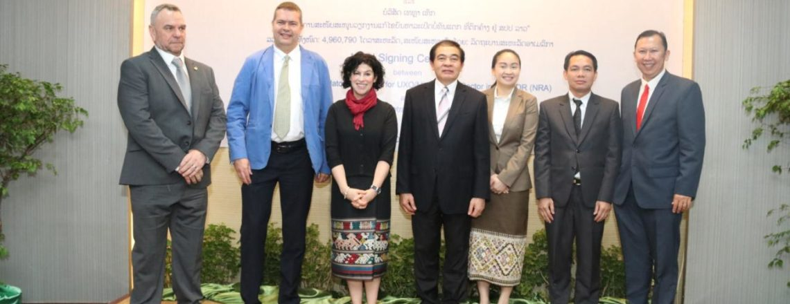 U.S. Renews Partnership with Lao PDR to Build Capacity in UXO Sector