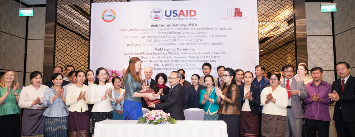 The U.S. and Lao PDR Cooperate to Improve Well-being and Self-reliance