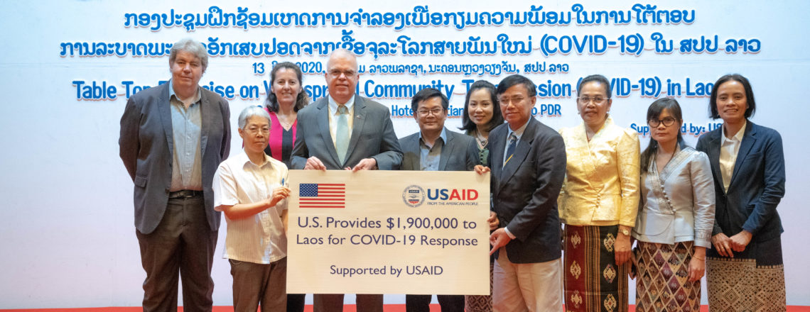 United States Announces Additional $2 Million to Support COVID-19 Response in Laos