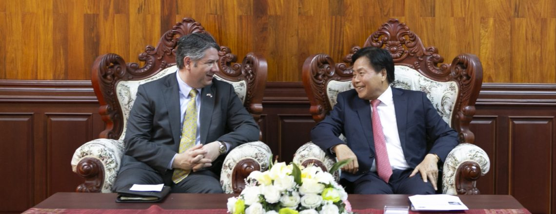 United States and Laos Partner for Sustainable Health Security