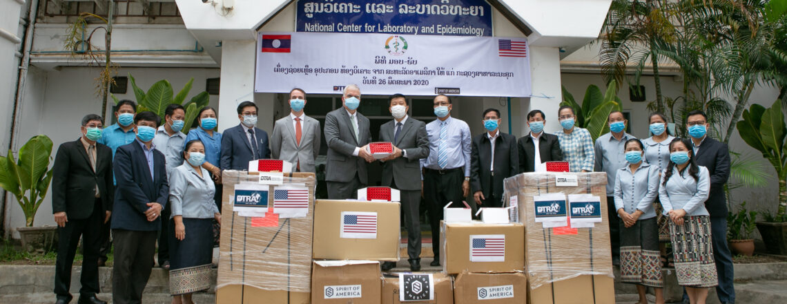 United States Delivers Additional Supplies to Help Laos Fight COVID-19