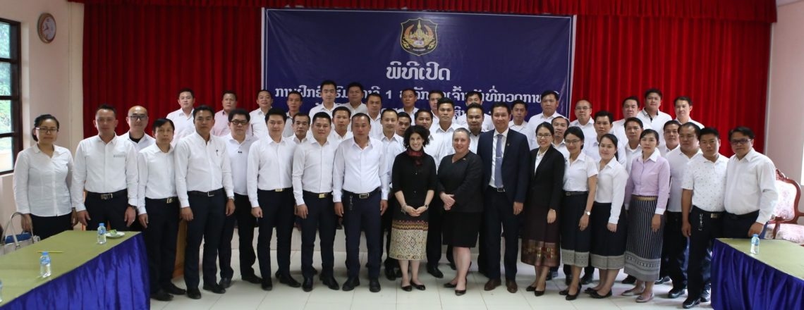 U.S. Bolsters Support to Lao Government to Combat Narcotics, Promote Rule of Law