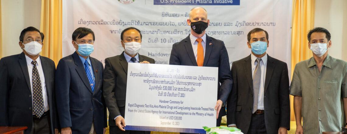 U.S. Provides Supplies Worth $530,000 USD to Combat Malaria