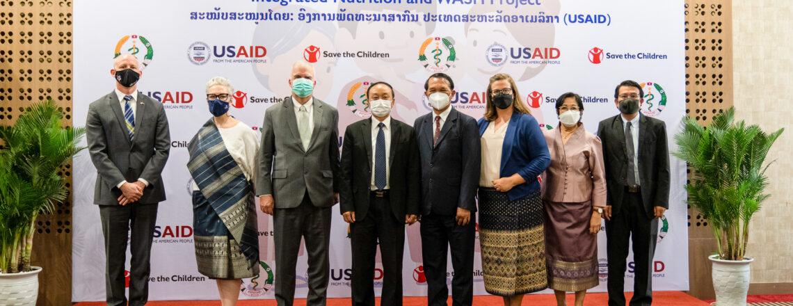 ກະຊວງສາທາ, USAID ແລະ ອົງການຊ່ວຍເຫຼືອເດັກ ສະເຫລີມ ສະຫລອງຜົນສໍາເລັດຂອງໂຄງການຢູເສດເນີເຈີ