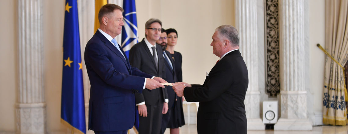 New U.S. Ambassador to Romania