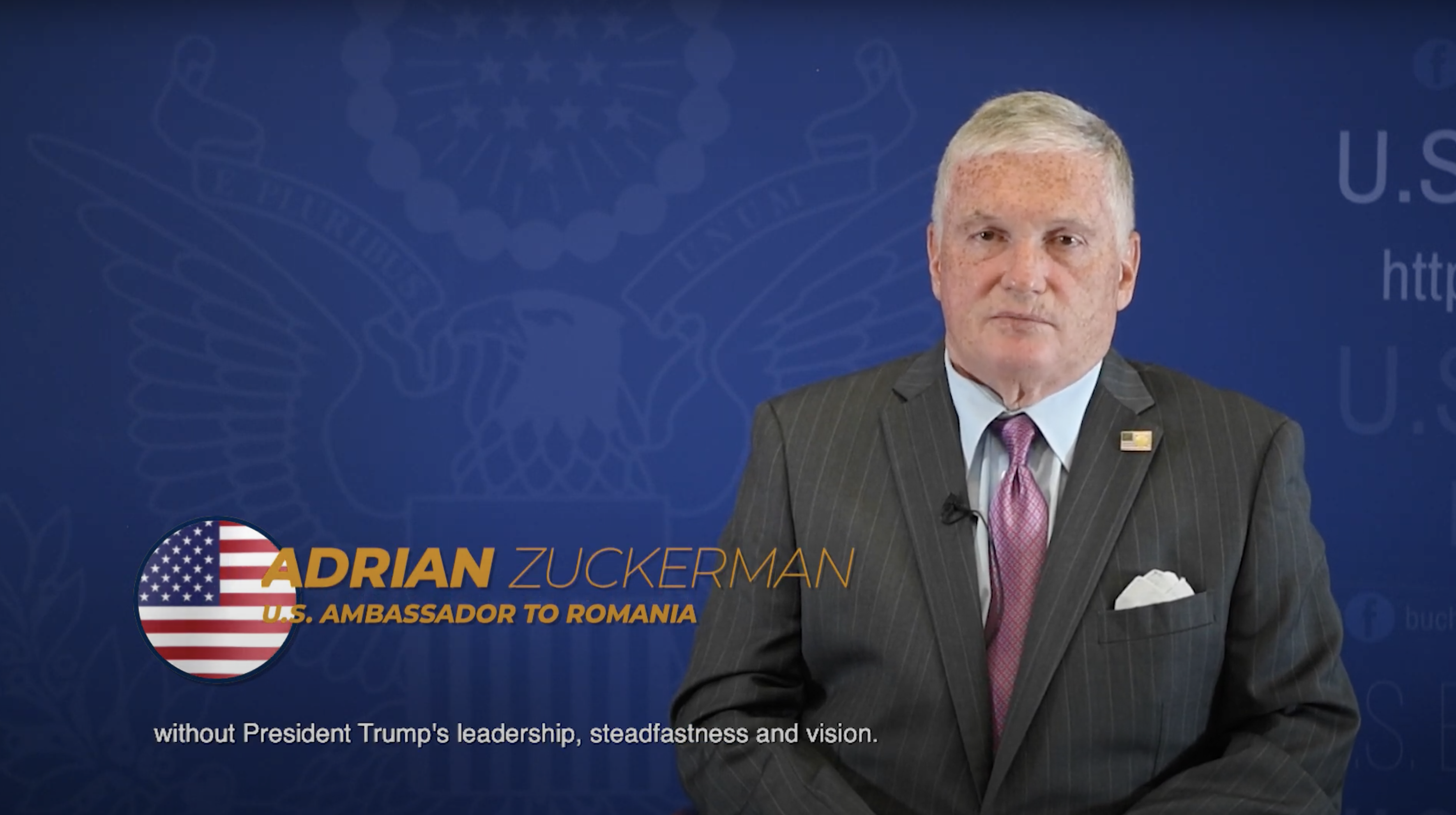 Ambassador Adrian Zuckerman Addresses Aspen Institute's Bucharest Forum  (Video) | U.S. Embassy in Romania