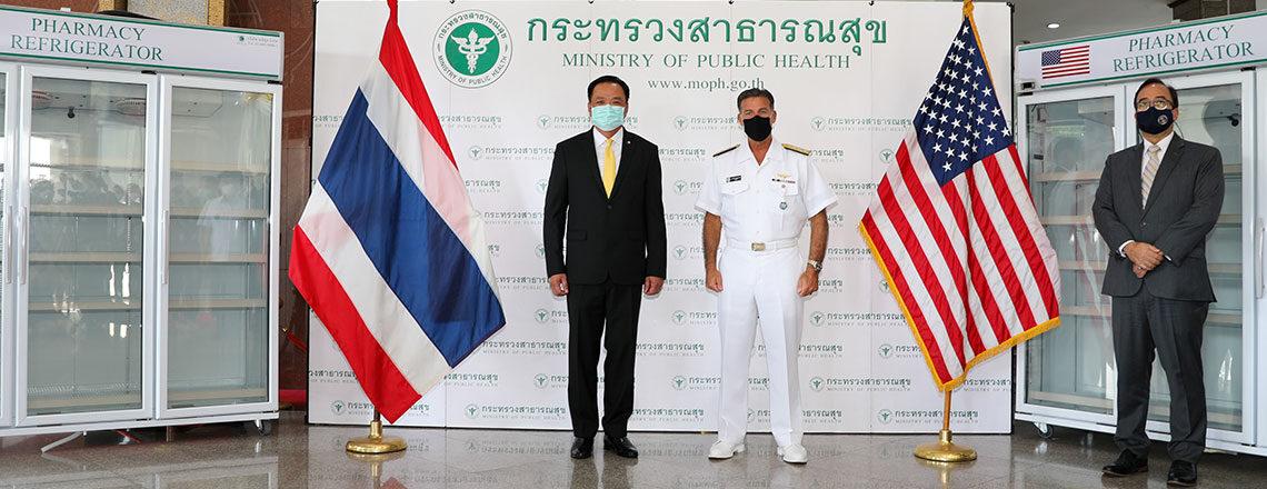 United States Donates Vaccine Refrigerators to Help Thailand Fight COVID-19